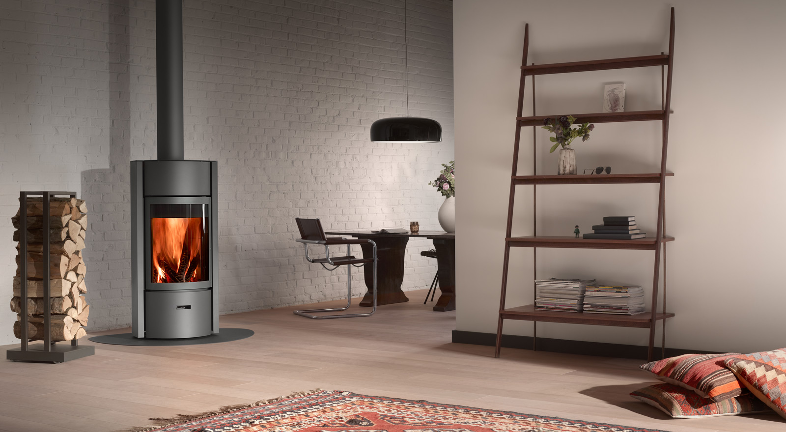 A revolutionary wood-burning stove