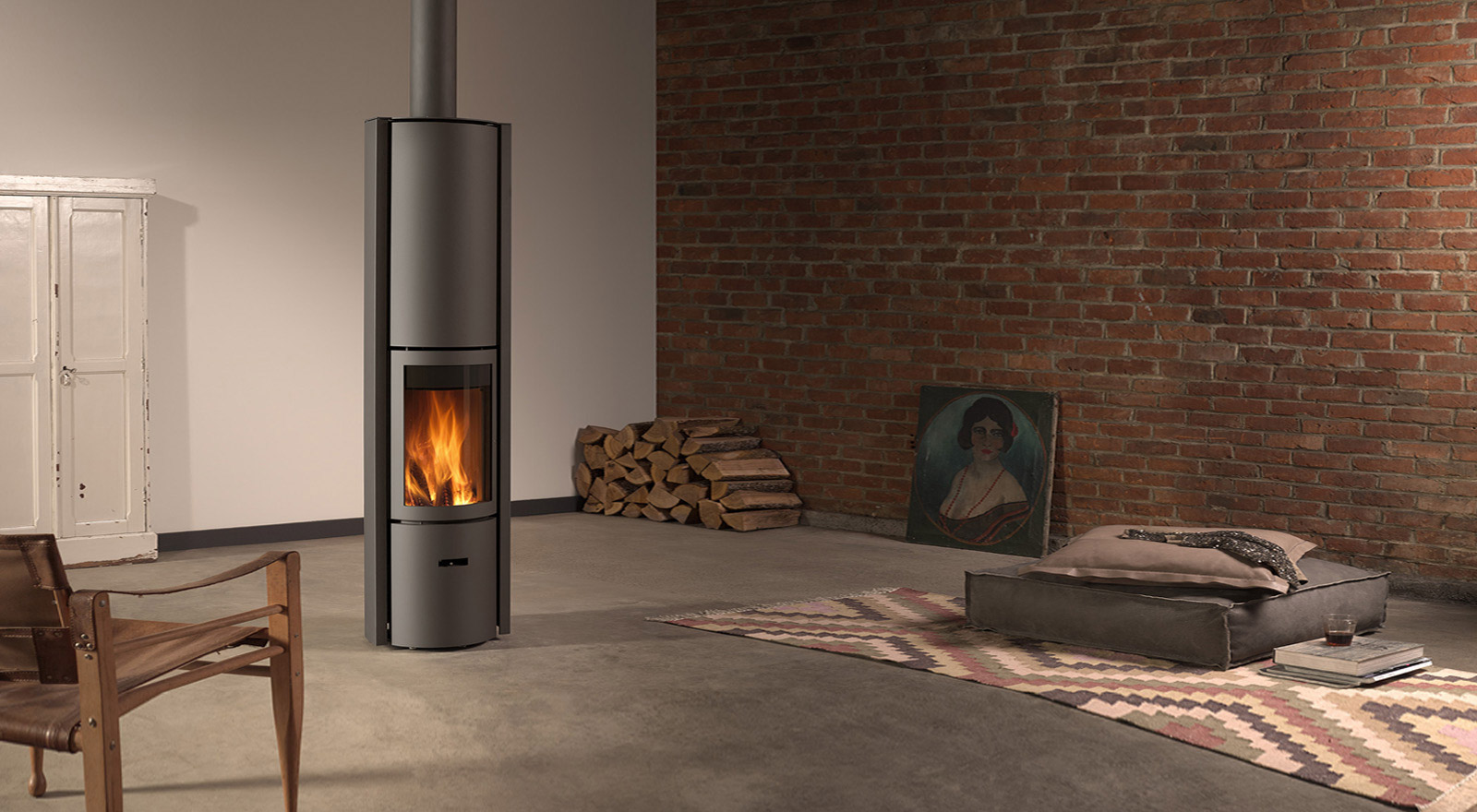 A revolutionary wood-burning stove!